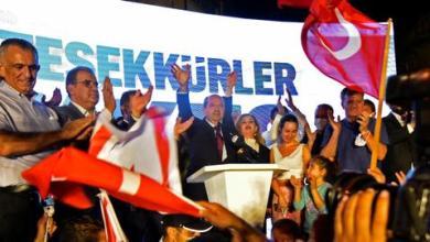 """صورة أردوغان يهنئ رئيس قبرص التركية المنتخب ويأمل أن يكون فوزه """"بادرة خير"""""""