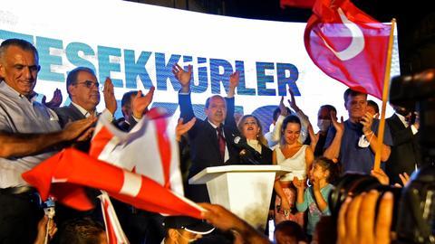 """1603087615 9291364 3042 1713 2 2 - أردوغان يهنئ رئيس قبرص التركية المنتخب ويأمل أن يكون فوزه """"بادرة خير"""""""