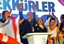 صورة بعد فوز تتار بالرئاسة.. الاتحاد الأوروبي يأمل استئناف مفاوضات توحيد قبرص