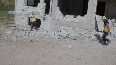 صورة سوريا.. إصابات في صفوف المدنيين بعد غارة روسية على إدلب