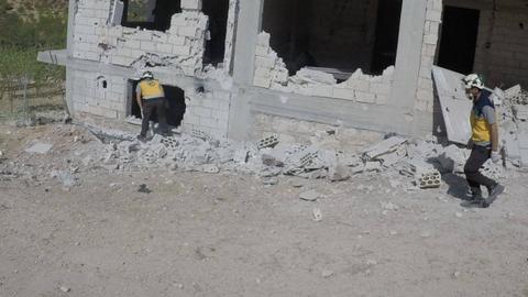 1603293021 9317224 1267 713 6 246 - سوريا.. إصابات في صفوف المدنيين بعد غارة روسية على إدلب