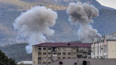 صورة أرمينيا تنتهك الهدنة الإنسانية بعد دقائق من سريانها مع أذربيجان