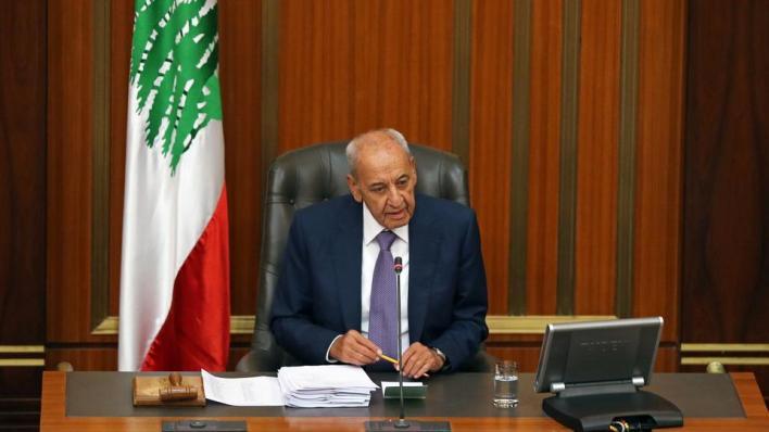 بري:تدرك الولايات المتحدة الأمريكية أن حكومتَي لبنان وإسرائيل مستعدتان لترسيم الحدود