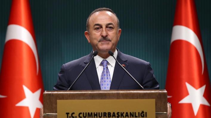 وزير الخارجية التركيمولود جاوش أوغلو يؤكد دعم بلاده عقد مؤتمر دولي لتنفيذ القرارات المتعلقة بفلسطين