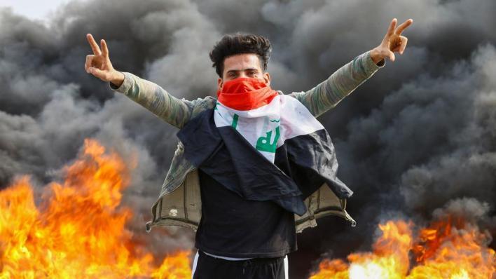 5336804 2970 1672 14 246 - العراق.. مظاهرات لإحياء الذكرى الأولى للحراك الشعبي تطالب بإصلاحات سياسية
