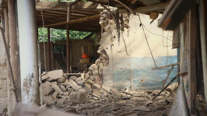 الجيش الأرميني قصف مدينة هوراديز بمنطقة فضولي