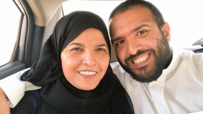 والدةصلاح الحيدر هي عزيزة اليوسف، الناشطة البارزة بحقوق المرأة وهي بين نحو 12 امرأة يحاكَمن بتهم متعلقة بنشاطهن