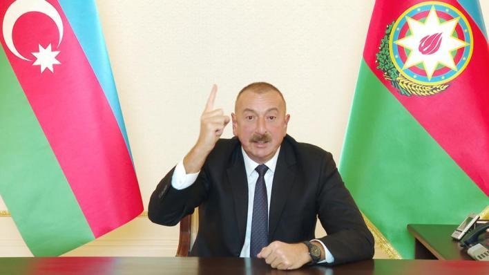 رئيس أذربيجان يعلن شروط بلاده لوقف عملياتها ضد أرمينيا في قره باغ