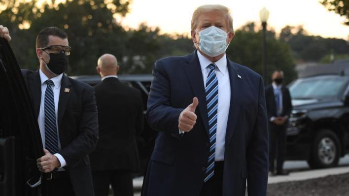 الرئيس الأمريكي: توقفت عن تناول الأدوية منذ 8 ساعات وأتحسن كثيراً