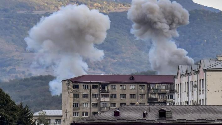 """9182546 2970 1672 9 259 - بدء الهدنة الإنسانية بين أذربيجان وأرمينيا في """"قره باغ"""" المحتل"""
