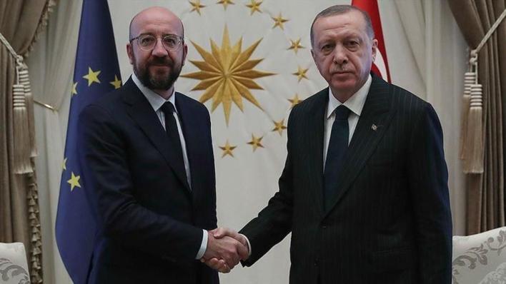 أردوغان يقول لرئيس المجلس الأوروبي في اتصال هاتفي إن الاتحاد عليه الوفاء بالتزاماته في اتفاق الهجرة