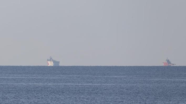 غادرت سفينة التنقيب أوروتش رئيس ميناء أنطاليا، صباح الاثنين، لتبدأ مهامها شرقي المتوسط