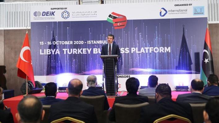 تستمر أعمال المنتدى الاقتصادي التركي-الليبي الأول على مدار يومين