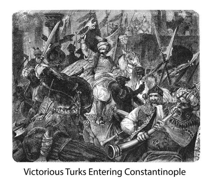 عندما غزا العثمانيون إسطنبول، احتفظوا إلى حد كبير بالأسماء اليونانية القديمة، مثل البوسفور وأسكدار وآيا صوفيا بالطبع