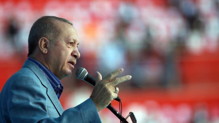 قال الرئيس التركي رجب طيب أردوغان إن