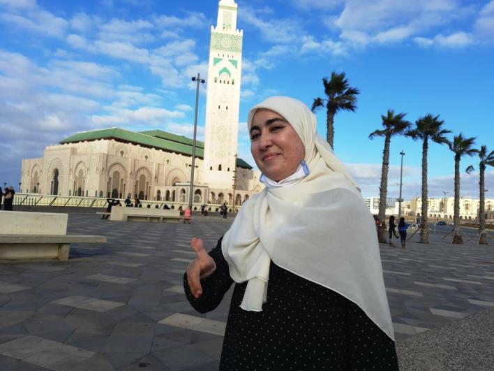 9381514 5280 3959 26 20 - سعيدة زهير.. مغربية تعانق أحلامها بيد واحدة