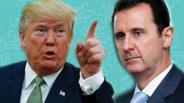وترامب - هل يحيك ترامب صفقة مع الأسد تتضمن تطبيعاً للعلاقات مع إسرائيل؟