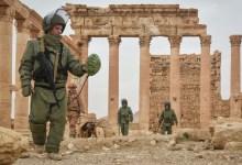 صورة بمساعدة خبراء.. القوات الروسية تنقّب عن الآثار في البادية السورية