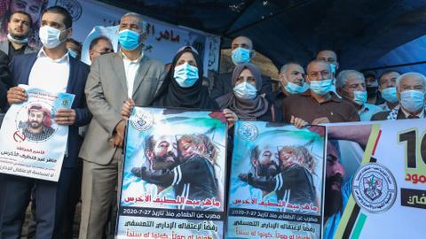 1604418854 9443672 4069 2291 20 260 - شاهد.. فلسطينيون يتضامنون مع أسير في السجون الإسرائيلية منذ 100 يوم