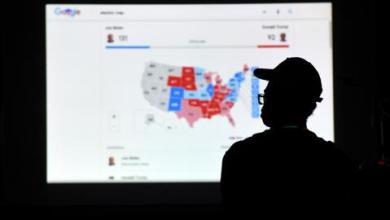 """صورة """"الرئاسية الأمريكية"""".. 131 صوتاً بالمجمع الانتخابي لبايدن و99 لترمب"""
