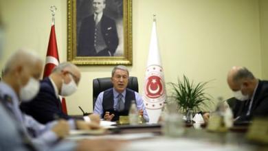 """صورة اجتماعات في أنقرة مع وفد عسكري روسي حول """"قره باغ"""""""