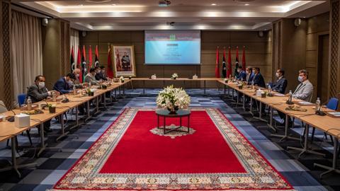 1606110112 9095567 4465 2514 22 251 - جلسة برلمانية بالمغرب بحثت آلية توحيد مجلس النواب