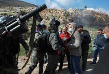 صورة اعتقال فلسطينيين تصدوا لمحاولة إسرائيلية للاستيلاء على أراضٍ شمالي الضفة