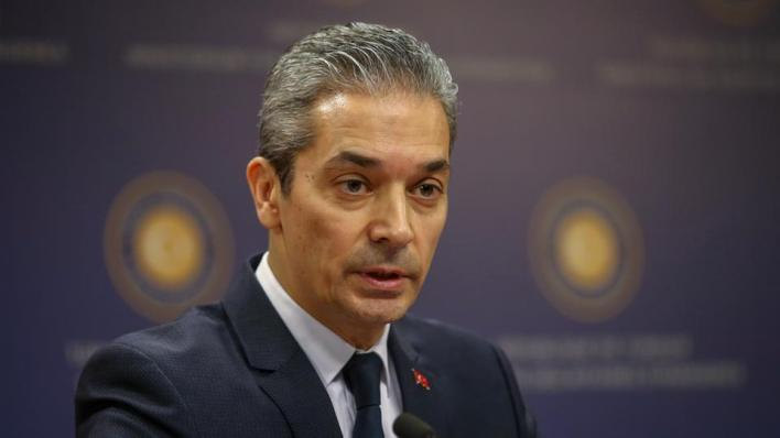 المتحدث باسم الخارجية التركية حامي أقصوي يشير إلى أن موقع بلاده في اتفاقية باريس للمناخ