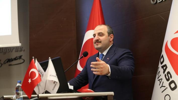 وزير الصناعة والتكنولوجيا التركي يقول إنالثقة بالاستثمار في بلاده تزداد يوماً بعد يوم