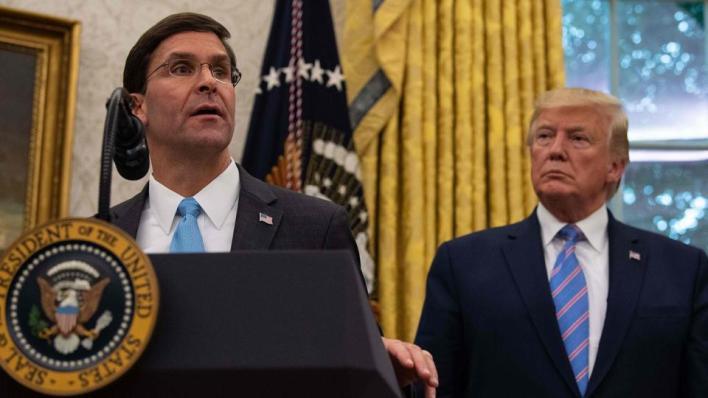 البيت الأبيض ينقل موالين لترمب إلى وظائف رئيسية في البنتاغونبعد إقالة إسبر