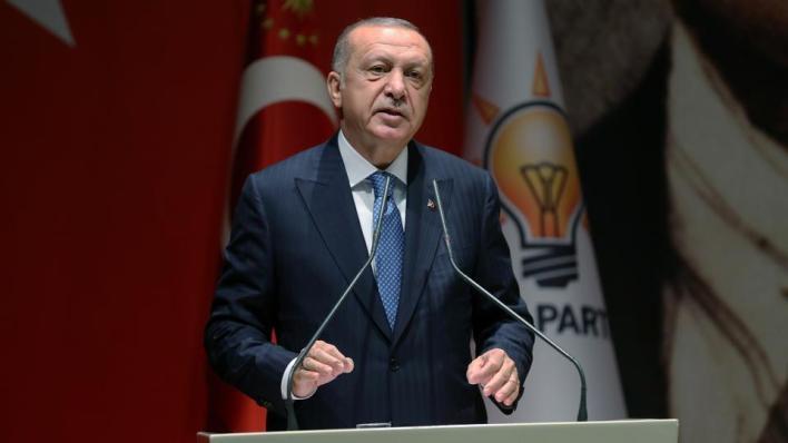 شدد الرئيس التركي على أنه لا يوجد حل آخر سوى التدابير الرامية إلى الحد من حركة الناس