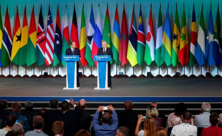 قمة سوتشي الروسية-الإفريقية بحضور أكثر من 40 زعيماً إفريقياً