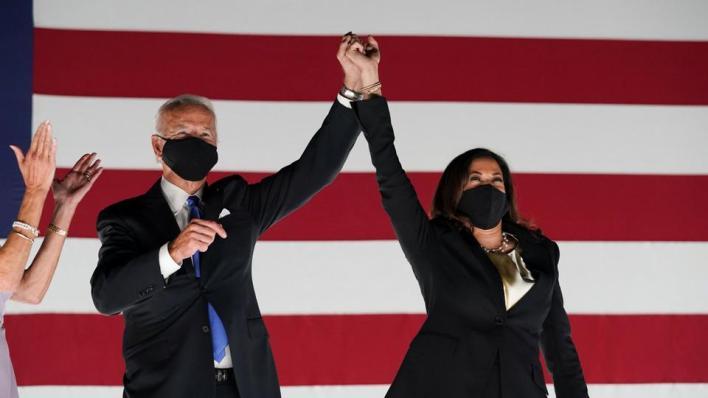 حلفاء واشنطن يهنئون بايدن وكامالا بالفوز بالرئاسة