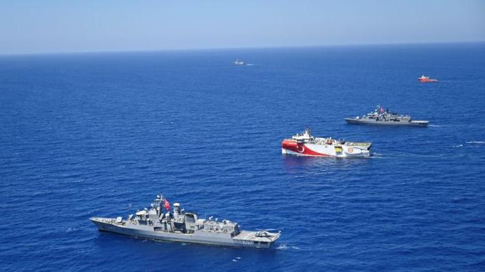"""8730039 921 519 101 56 - تركيا تمدد إخطار نافتيكس لعمليات """"أوروتش رئيس"""" شرقي المتوسط"""