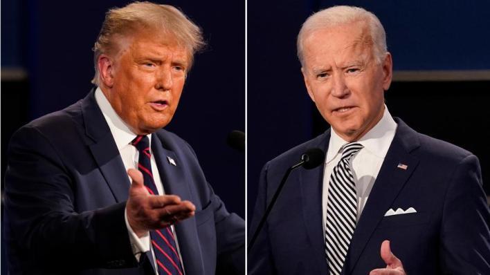لم يعترف ترمب بالهزيمة بعد أيام من حصول منافسه الديمقراطي جو بايدن على عدد كافٍ من أصوات المجمع الانتخابي (AP)