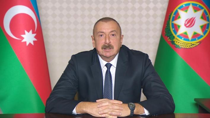 9306617 1939 1092 12 16 - رئيس أذربيجان يرحب بالمفاوضات التركية-الروسية لإنشاء مركز مشترك في قره باغ