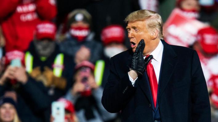 استطلاعات الرأي على مستوى الولايات المتحدة تشير إلى أن المرشح الديمقراطي جو بايدن يتفوق بفارق واضح على ترمب