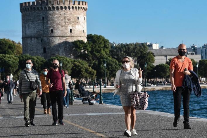 الحكومة اليونانية أعلنت أن مدينة تيسالونيكي ثانية مدن البلاد ستخضع لعزل تام لمدة 14 يوماً اعتباراً من الثلاثاء