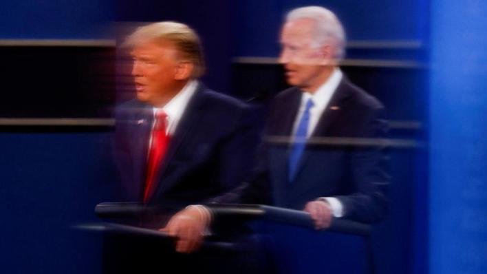 بايدن ومن خلفه الديمقراطيون يقولون إن ترمب قد يسعى للطعن على نتائج الانتخابات