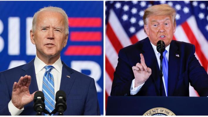 ادعى ترمب في أكثر من مناسبة أن الانتخابات الرئاسية تعرضت للتزوير لمصلحة بايدن