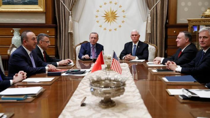 أشار موفيت إلى وجود بعض الصعوبات بين تركيا والولايات المتحدة