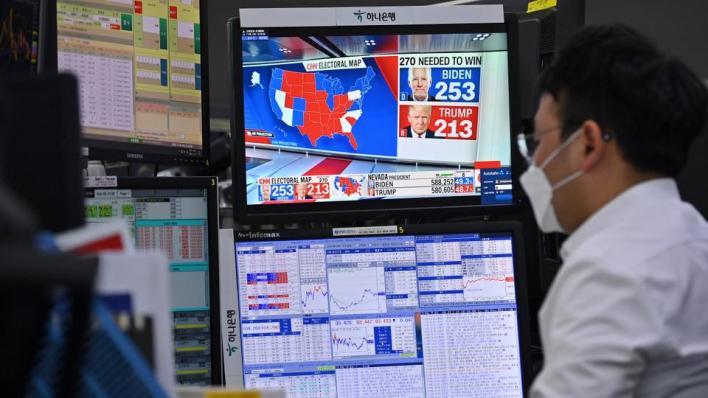 تأخُّر إعلان النتيجة الحاسمة للانتخابات الرئاسية بسبب أصوات الناخبين التي وصلت بالبريد ولم تفرز بعد