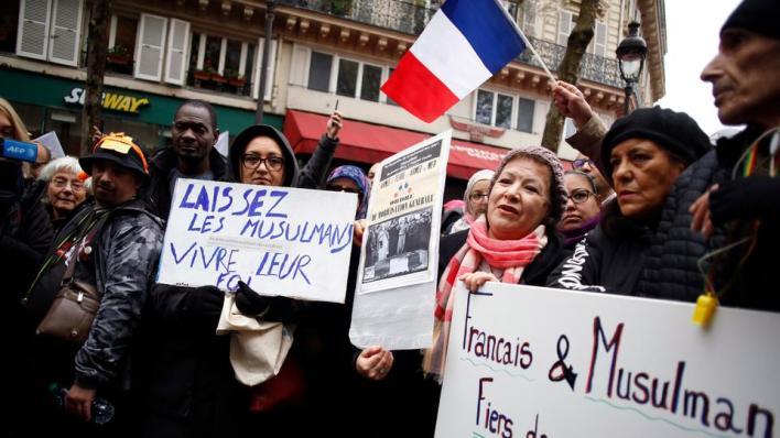 تصاعدت الاعتداءات ضد المسلمين والأجانب في فرنسا مؤخراً