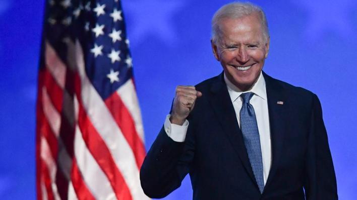 حملة المرشح الديمقراطي جو بايدن تخطط لأن يلقي كلمة في وقت ذروة المشاهدة السبت