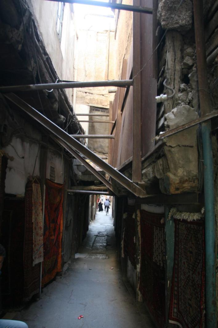 دمشق القديمة.. ترميم حي الحمراوي