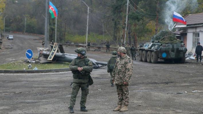 """9532384 3975 2238 16 82 - بمساعدة روسية.. أذربيجان وأرمينيا تتبادلان جثث الجنود في """"شوشة"""""""