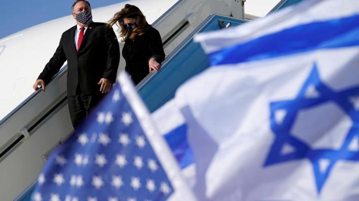 وزير الخارجية الأمريكي يصل إسرائيل في زيارة تستمر حتى الجمعة