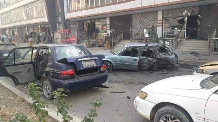 9587735 949 534 5 2 - سلسلة انفجارات تهز وسط العاصمة الأفغانية كابول