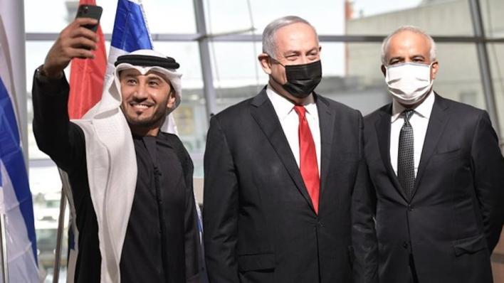 """9633096 2241 1262 10 92 - """"التطبيع لا يمكن إيقافه"""".. نتنياهو يستقبل أول طائرة تجارية لـ """"فلاي دبي"""""""