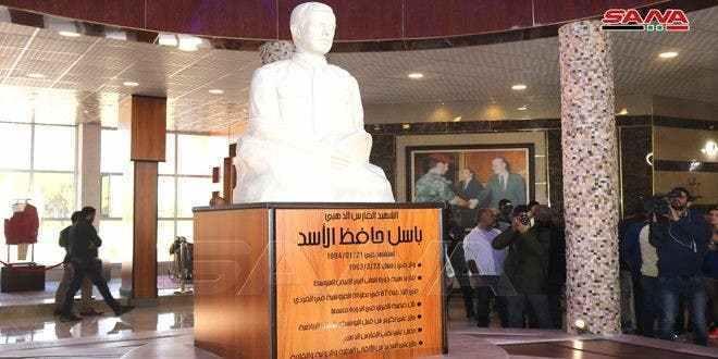 """b3a4acf8 f9a0 4ab0 9d10 a57ab3fbb37e 1 - نظام الأسد يفتتح متحف"""" الباسل"""" في اللاذقية وأبرز مقتنياته """"بوط عسكري"""" (صورة)"""